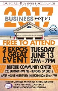 BBA Expo June 13, 2017 at Buford Community Center